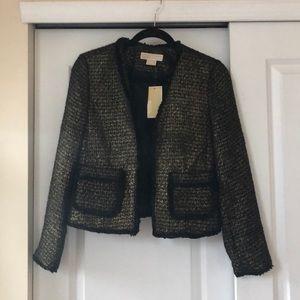 NWT Michael Kors tweed blazer